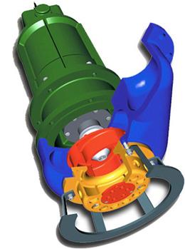Polaris Model PHO™ Open Suction - Sbumersible Slurry Pump