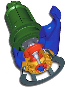 Polaris Model PVO™ Shredder Option - Submersible Slurry Pump