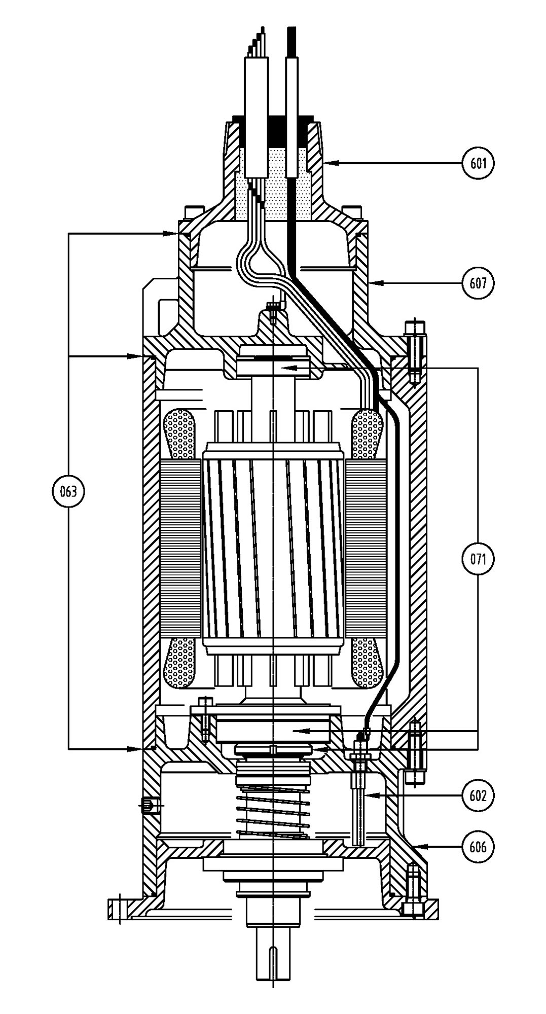 Frame 210-360 Common Motor Parts